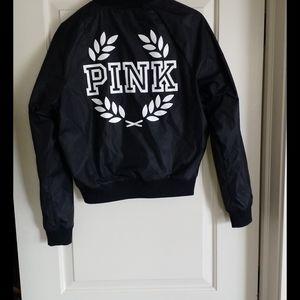 Black bomber jacket    size small